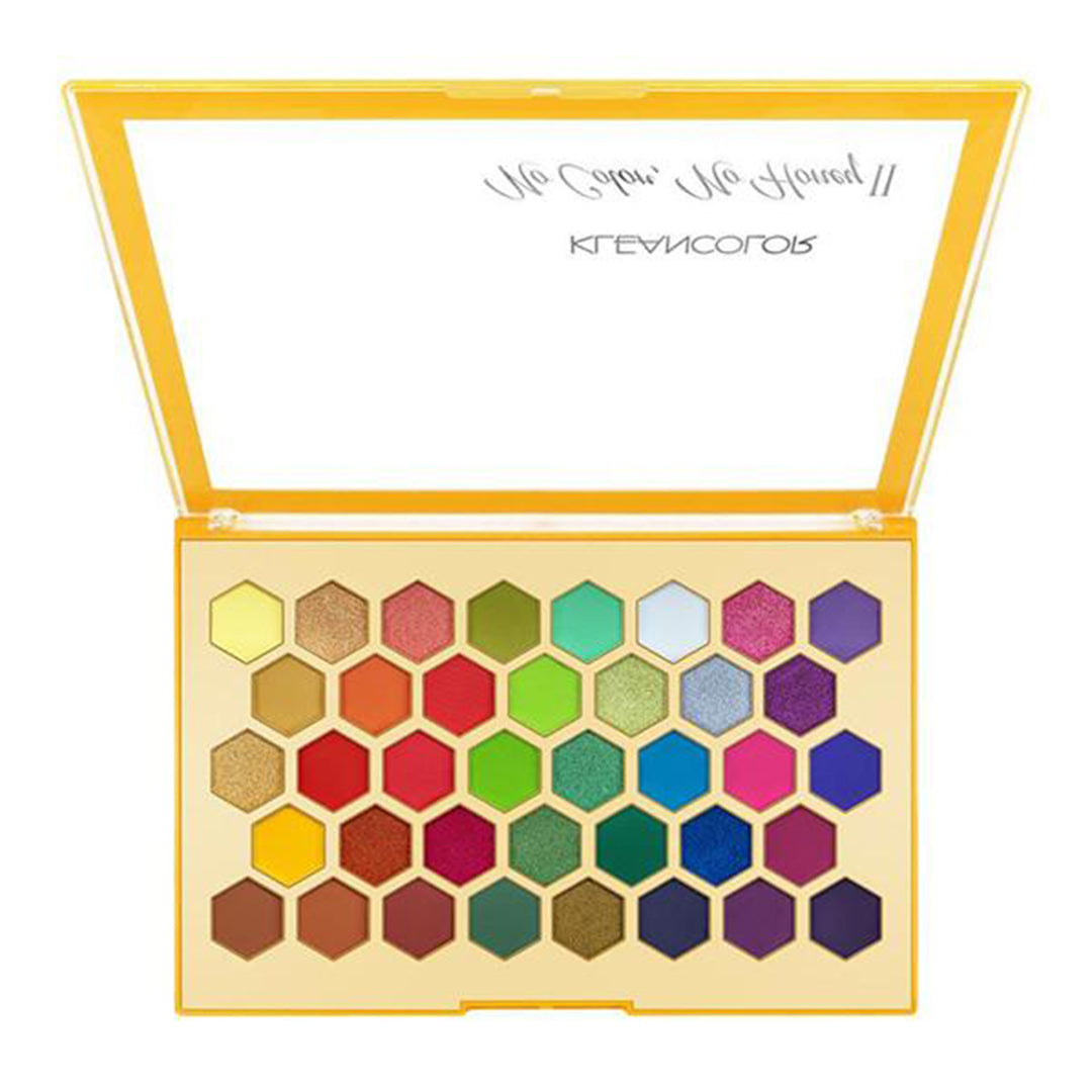 Paleta de Pigmento Compacto No Color, No Honey II Kleancolor - Venta al por mayor Display 6PZS (ES1218)