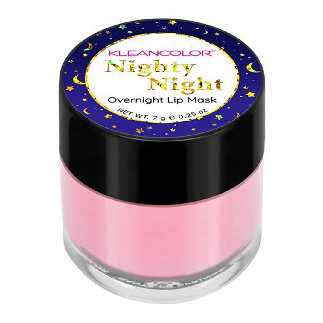 Mascarilla de Labios Nighty Night Overnight Kleancolor - Venta al por mayor Display 36PZS (LG258)