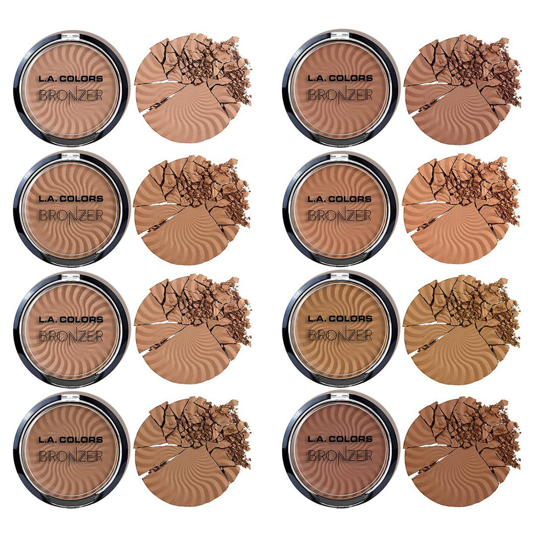 Bronceador L.A. Colors - Venta al por Mayor Display 72PZS (CAD449.1)