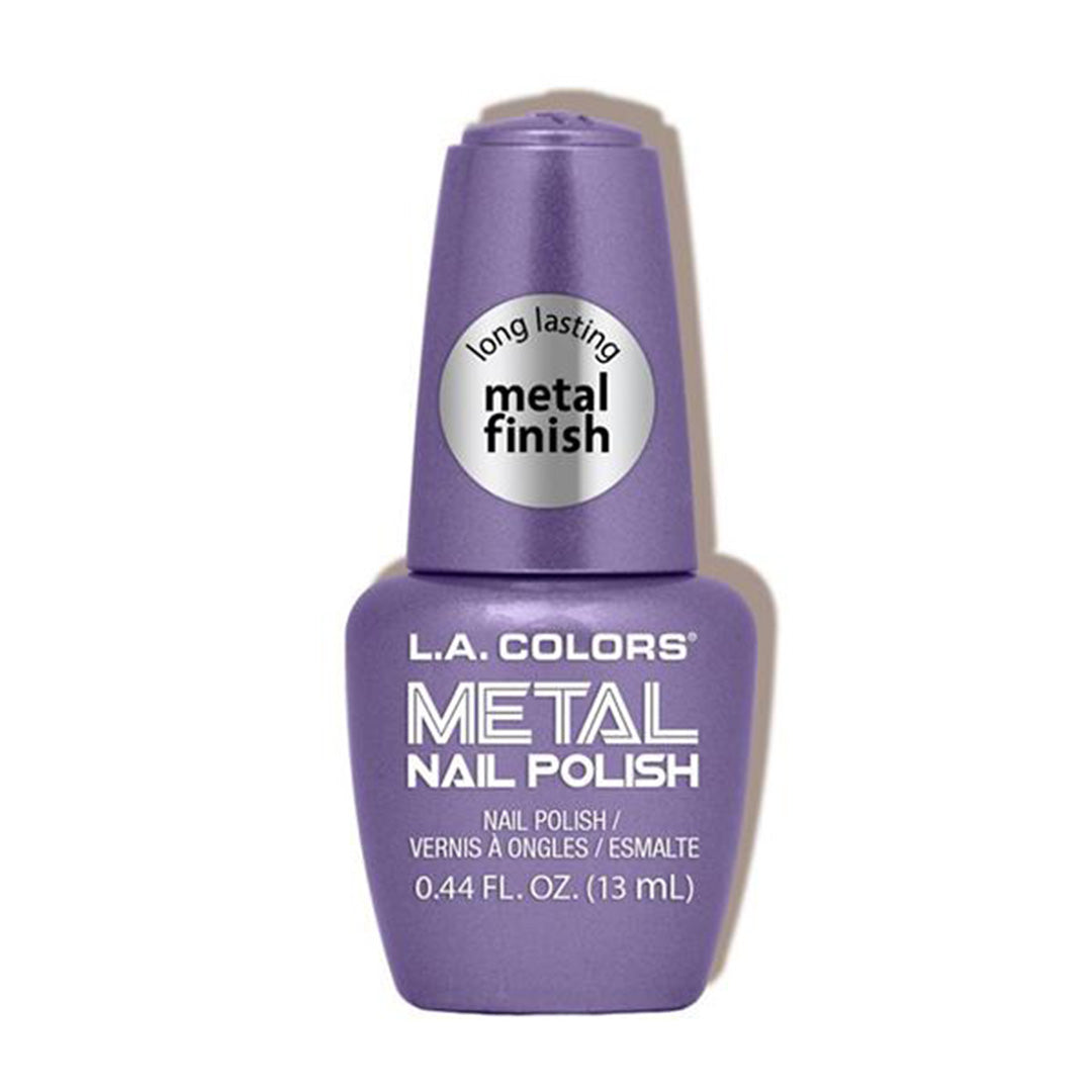 Esmalte de Uñas Metal Oscuro L.A. Colors - Venta al por Mayor Display 24PZS (CLAC439)