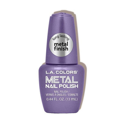 Venta al por mayor L.A. Colors Esmalte de Uñas Metal Oscuro Display 24PZS (CLAC439)