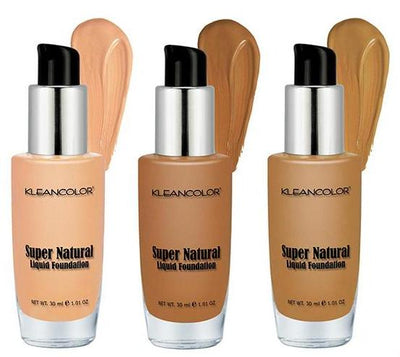 Venta al por mayor Kleancolor Base Liquida Super Natural 24PZS DISPLAY (LF1295)