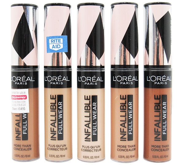 Corrector infalible Paris Full Wear Surtido Loreal  - Liquidacion Pack 24PZS (LPIFLIQUIDATION)