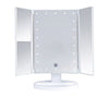 Espejo Blanco Led Desktop Lurella Cosmetics