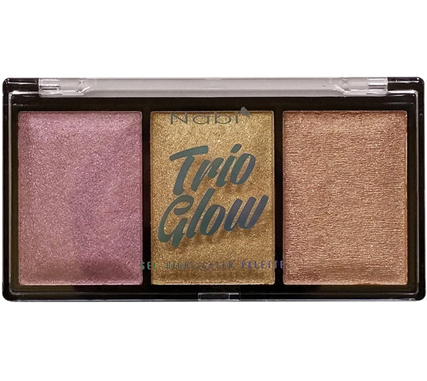 Trio Glow Gel Highlighter Nabi - Venta al por mayor Display 24PZS (HLP-24)