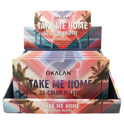Venta al por mayor Okalan Paleta Take Me Home 32-Color Display 6PZS (OKL-E051)