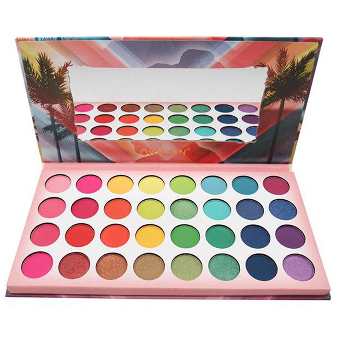 Paleta Take Me Home 32-Color - Okalan - Venta al por mayor Display 6PZS (OKL-E051)