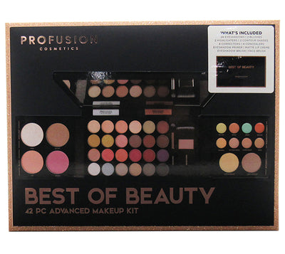 Venta al por mayor Profusion  Kit de Maquillaje Avanzado de 42 Piezas - Best Of Beauty Pack 6PZS (7455)
