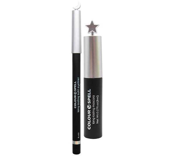 Mascara Eye Set & Colour Spell kohl - Black Profusion - Venta al por mayor Pack 6PZS (801SET)