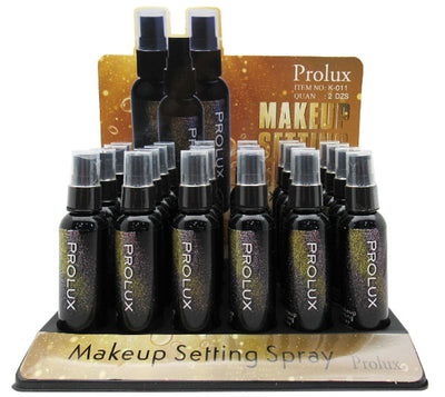 Setting Spray para Maquillaje Prolux  - Venta al por mayor