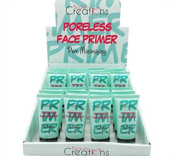 Venta al por mayor Beauty Creations Poreless Face Primer Display 24 Pzs