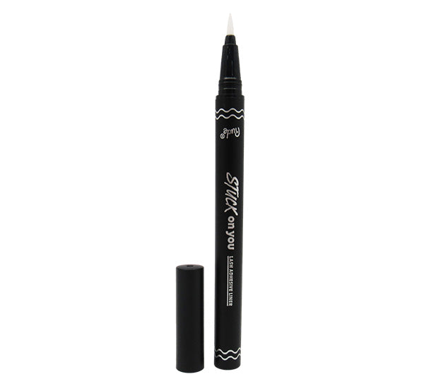 Delineador y Adhesivo de Pestañas Claro Stuck On You Rude Cosmetics - Venta al Por Mayor 6PZS (RC-21049)