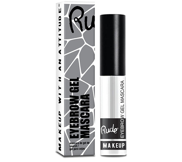 Mascara para Cejas en Gel - Transparente Rude Cosmetics - Venta al por mayor Pack 18PZS (RC-87986)