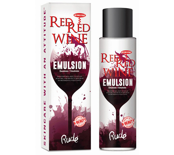 Red Red Wine Emulsion Rude Cosmetics - Venta al por mayor Pack 6PZS (RC-88027)