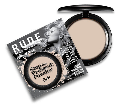 Venta al por mayor Rude Cosmetics Stop The Pressed Powder 6 Tonos Variados Pack 18PZS (RC-STP6)