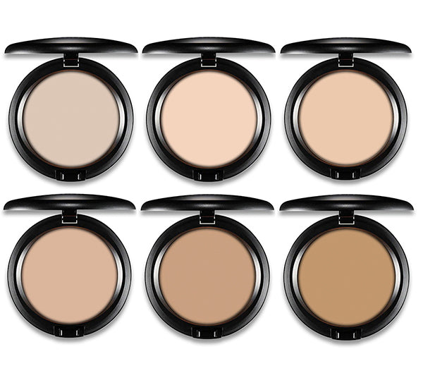 Stop The Pressed Powder 6 Tonos Variados Rude Cosmetics - Venta al por mayor Pack 18PZS (RC-STP6)