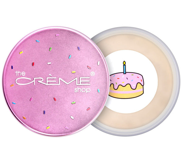 Polvo Fijador Ultra Matificante Natural Cake Face The Creme Shop - Venta al Por Mayor Pack 6PZS (NCF4595)