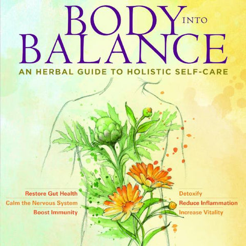Body into Balance Book - Hardcover - Signed by Author!