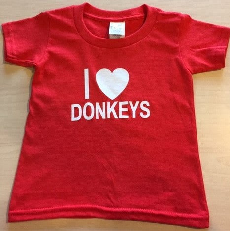 Short sleeve children's t-shirt