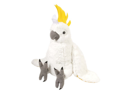 Cockatoo Stuffed Animal
