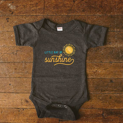 Little Ray of Sunshine Baby Onesie