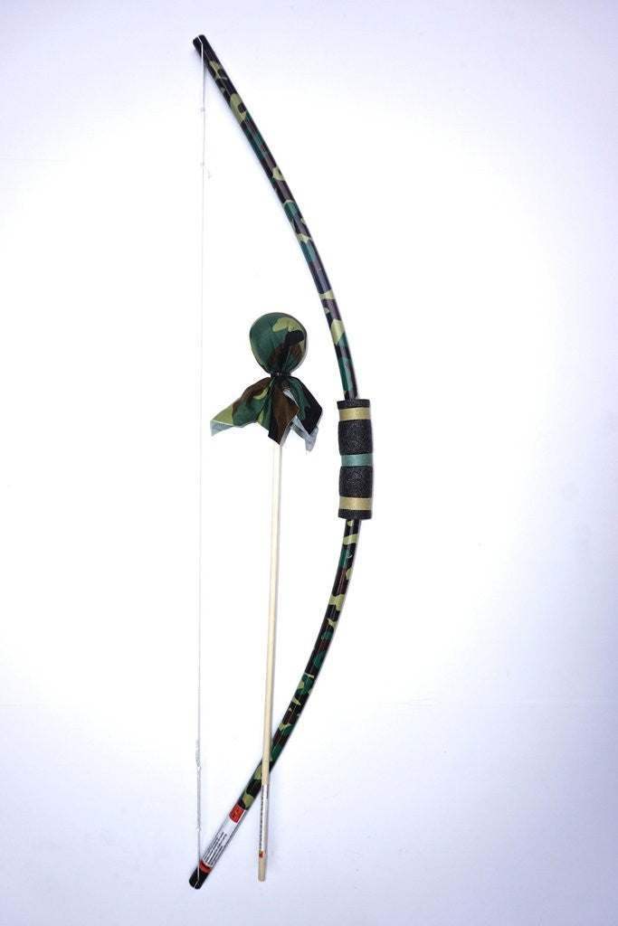 Bow With 2 Arrows and Bullseye