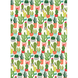 Wrapping Paper Roll - Cactus