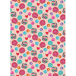 Wrapping Paper Roll - Lollipops