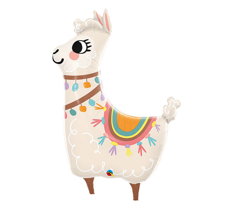 "Loveable Llama 45"" Foil Balloon"