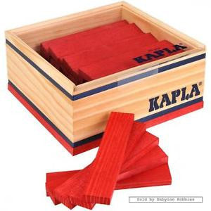 KAPLA 40 Red blocks