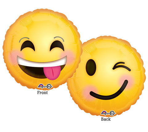 Emoticons Smile Foil Balloon