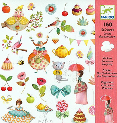 Princess Tea Party - 160 Stickers