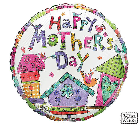 Happy Monther's Day Watercolor Foil Balloon