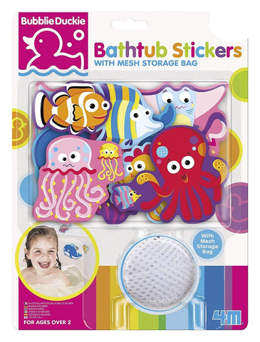 Bathtub Stickers - Sea Life