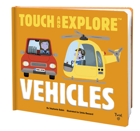 Touch And Explore - Vehicles
