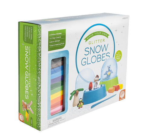 Make Your Own: Glitter Snow Globes