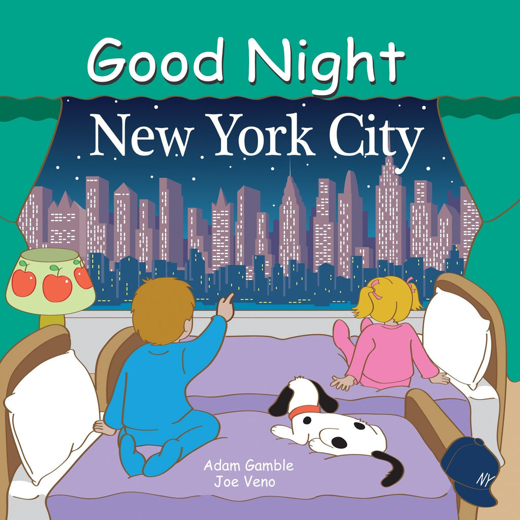 Good Night New York City Book by Adam Gamble