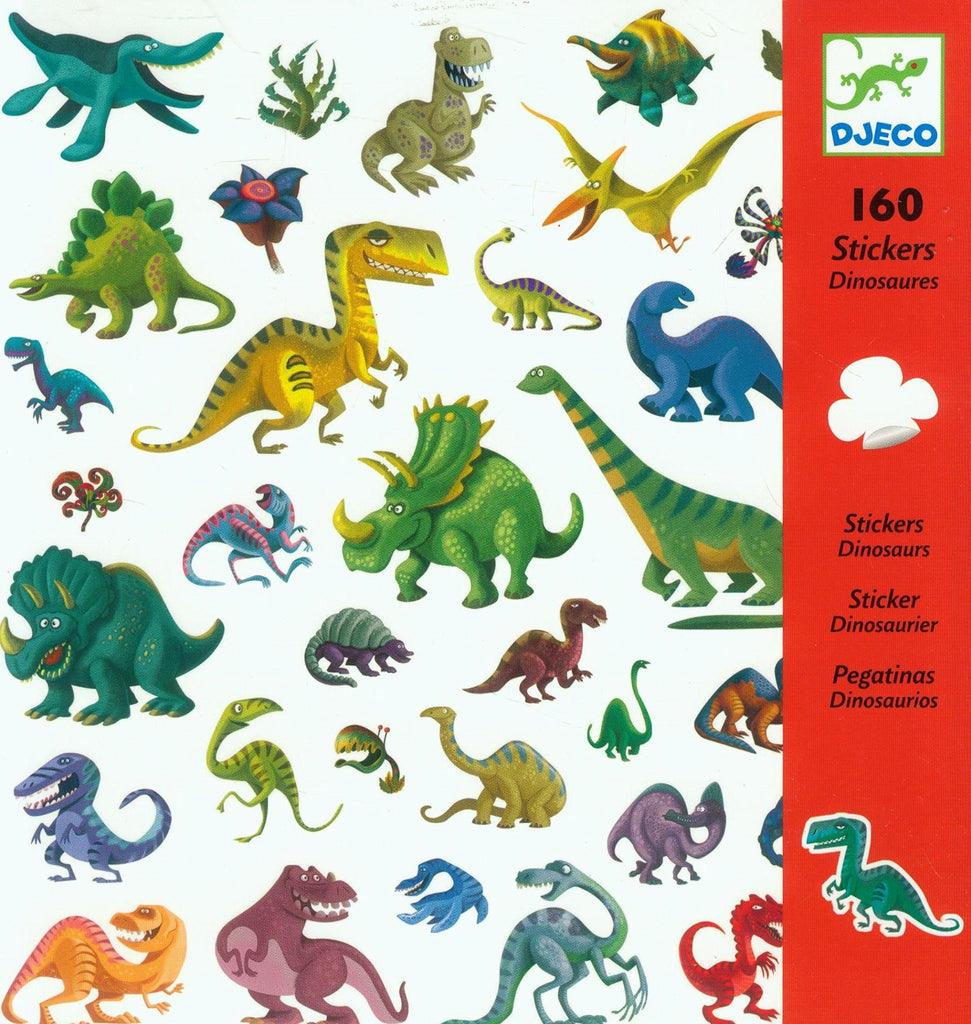 Dinosaurs - 160 Stickers