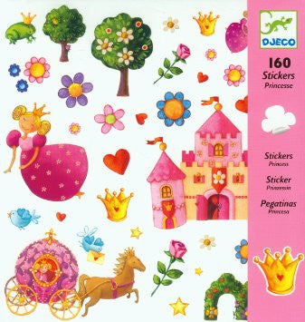 Princess Marguerite - 160 Stickers