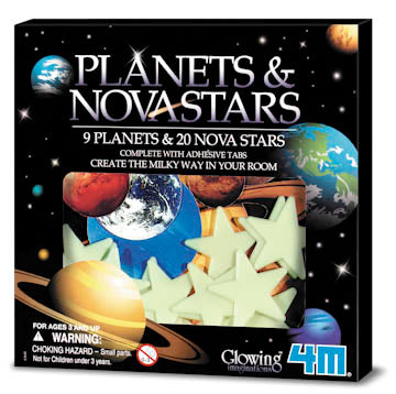Glow-In-The-Dark Planets & Nova Stars