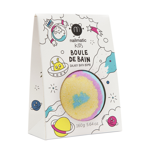Galaxy Bath Bomb - Blue, Yellow & Pink
