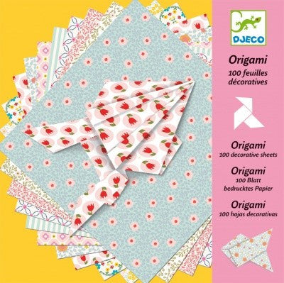 100 Origami Decorative Sheets