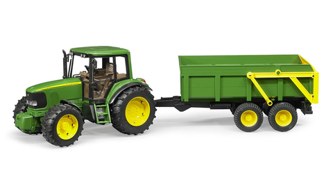 John Deere 6920 with Tipping Trailer