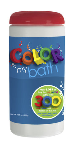 Color My Bath 300 Tablets