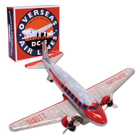 Die-Cast Overseas Air Lines DC-3 Airplane