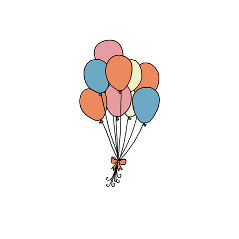 Balloons Tattoo