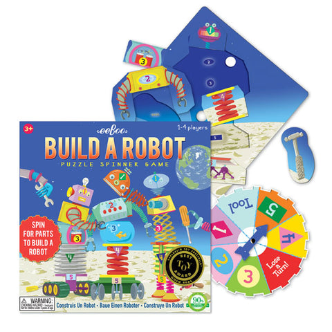 Build A Robot Puzzle Spinner Game