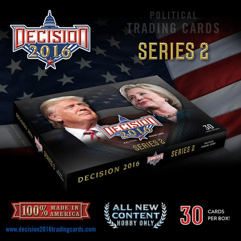 Decision 2016 Series 2 Hobby Box