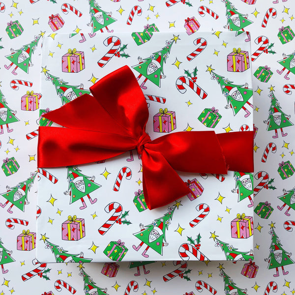 CHRISTMAS MORNING GIFT WRAP