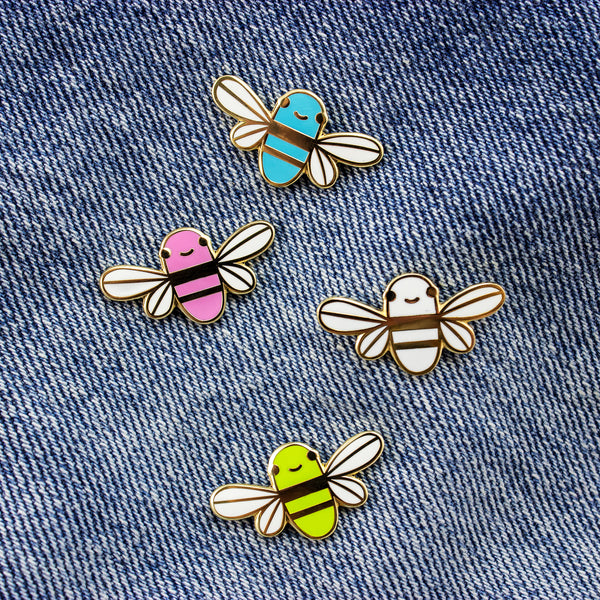 Mini Golden Bee Pin